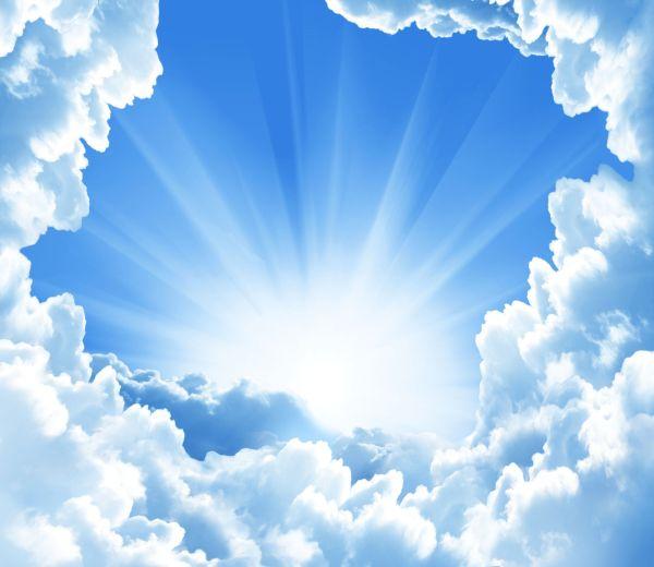 Sun-thru-clouds